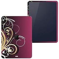 igsticker iPad Pro 11 inch インチ 対応 apple iPad Pro11 シール アップル アイパッド A1934 A1979 A1980 A2013 iPadPro11 全面スキンシール フル 背面 側面 正面 液晶 タブレットケース ステッカー タブレット 保護シール 人気 植物 ピンク デザイン 007551