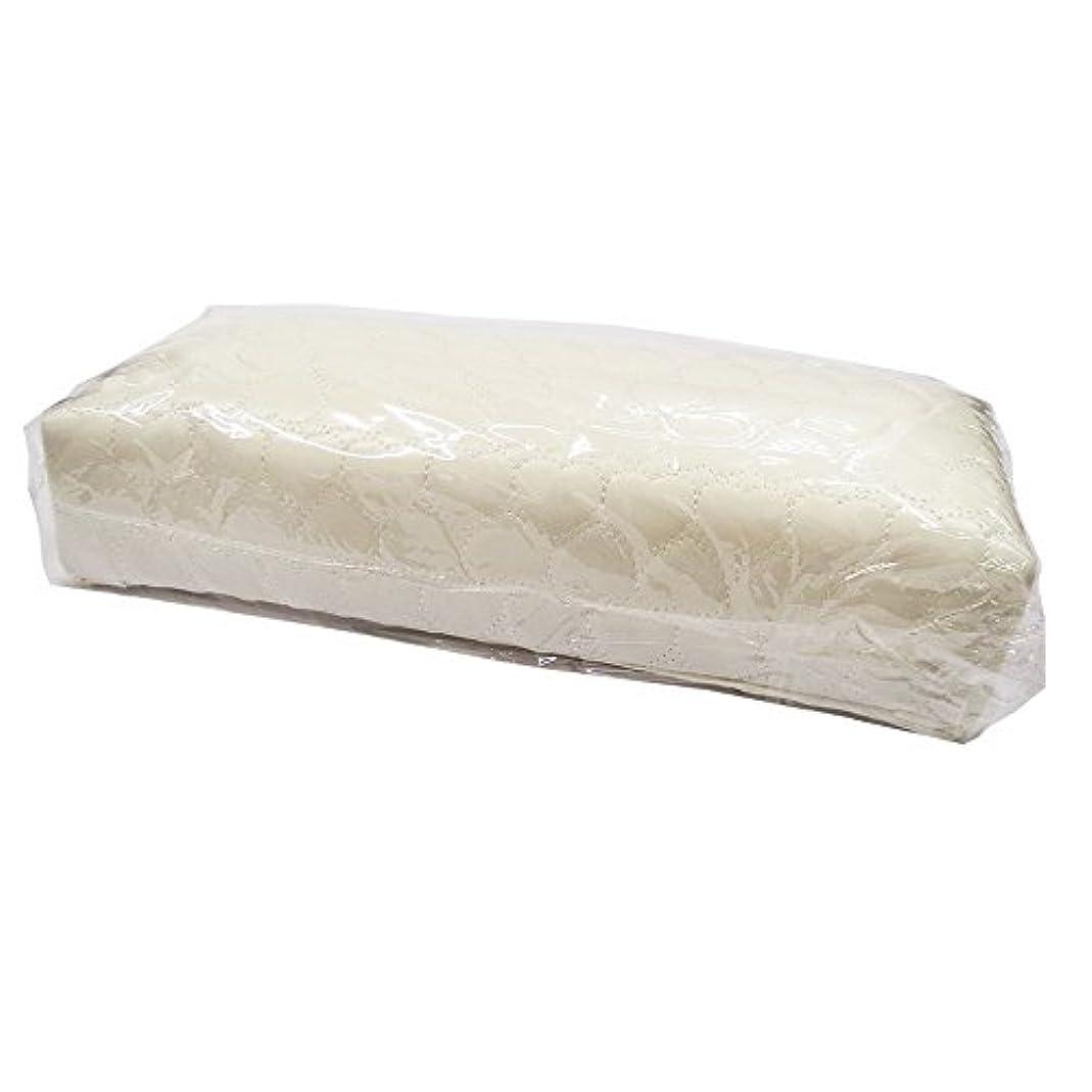 フリース極端な形状ネイルガーデン ハートアームレスト パールホワイト