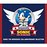 SONIC THE HEDGEHOG 25TH ANNIVERSARY SELECTION(CD2枚組+DVD)