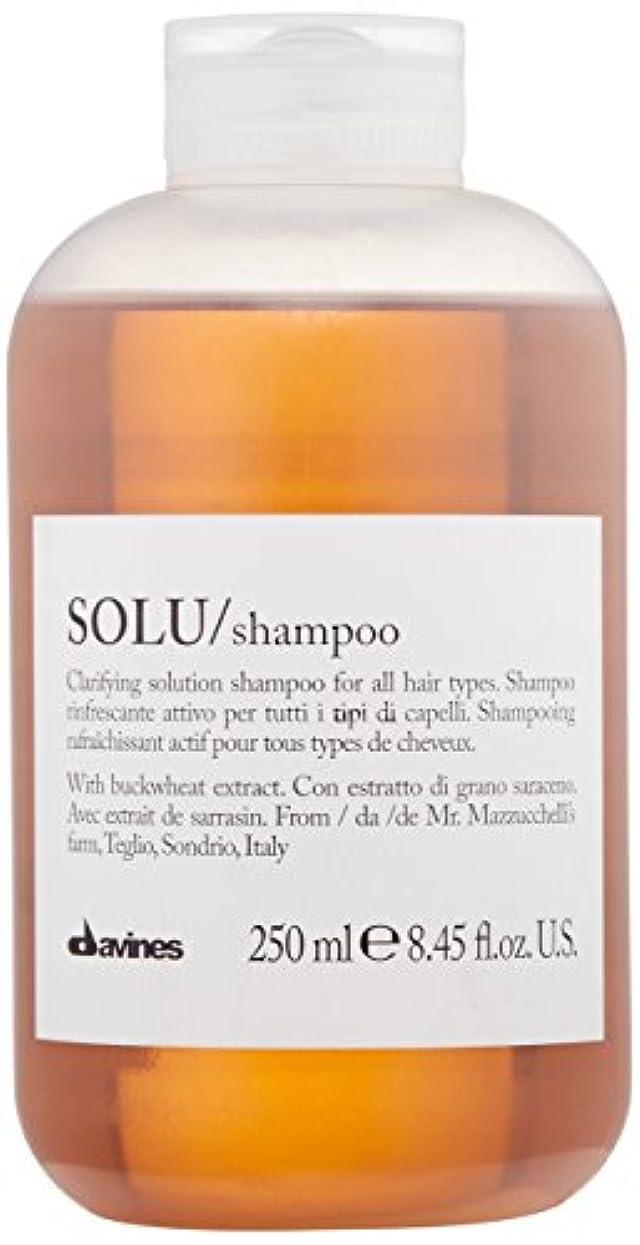 対称結び目筋ダヴィネス Solu Clarifying Solution Shampoo (For All Hair Types) 250ml/8.45oz並行輸入品