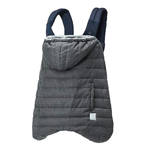BabyHopper ベビーホッパー 抱っこ紐カバー 防寒 ウインター・マルチプルダウンカバー ウールライク グレー CKBH04018