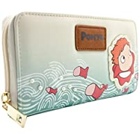 Studio Ghibli Ponyo Goldfish Princess Cream Coin & Card Clutch Purse