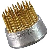 剣山 生け花アレンジ 2.3cm 剣山 丸 真鍮針
