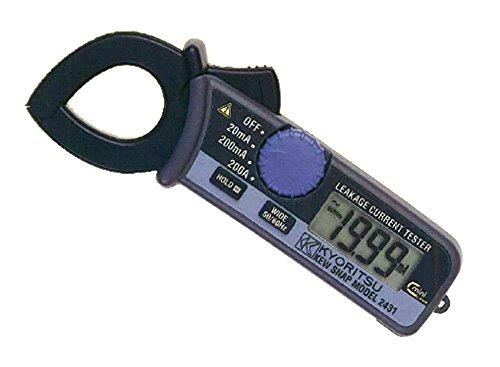 共立電気計器キュースナップ・漏れ電流・負荷電流測定用クランプメータ