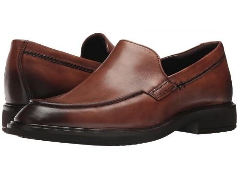 最悪パーティー泳ぐECCO(エコー) メンズ 男性用 シューズ 靴 ローファー Vitrus II Apron Slip-On - Amber [並行輸入品]