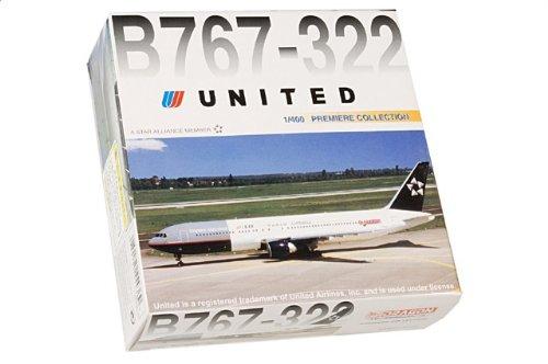 1:400 ドラゴンモデルズ 55436 ボーイング 767 ダイキャスト モデル ユナイテッド 航空 スター Alliance【並行輸入品】