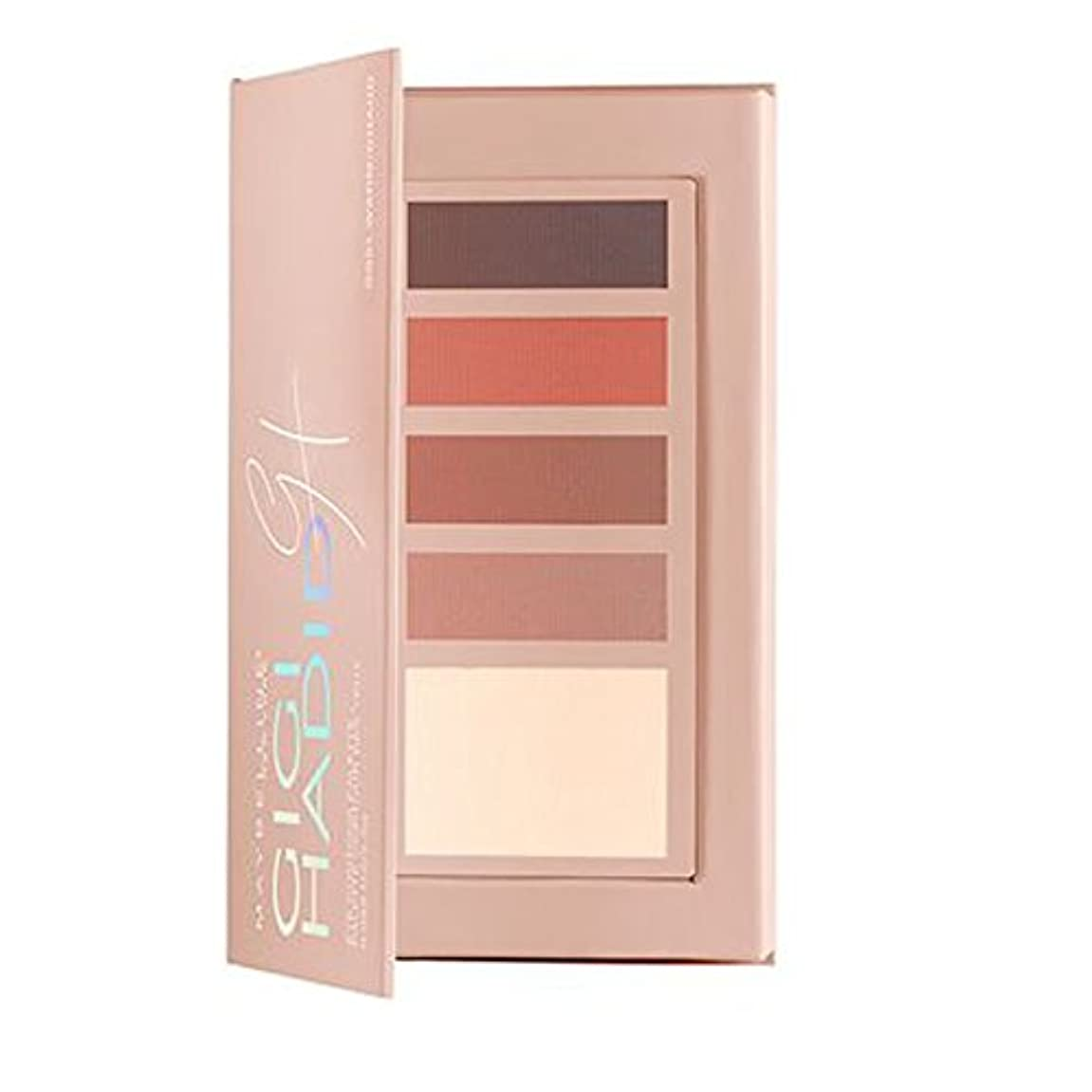 ばかスクリーチびんメイベリン Gigi Hadid Eye Contour palette - # GG01 Warm 2.5g/0.088oz並行輸入品
