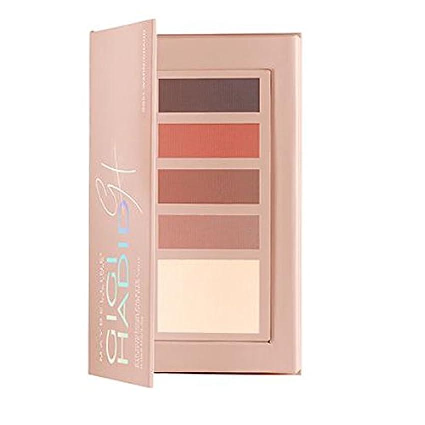 ルーム散歩不快なメイベリン Gigi Hadid Eye Contour palette - # GG01 Warm 2.5g/0.088oz並行輸入品