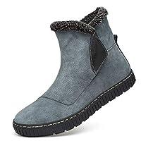 サイドゴアブーツ メンズ 防水 防寒 防滑 紳士靴 ハイカット ショートブーツ 灰色 男性用 イングランド風 厚底 カジュアル レイン シューズ 軽量 27.0cm おしゃれ かっこいい シンプル ウォーキングシューズ