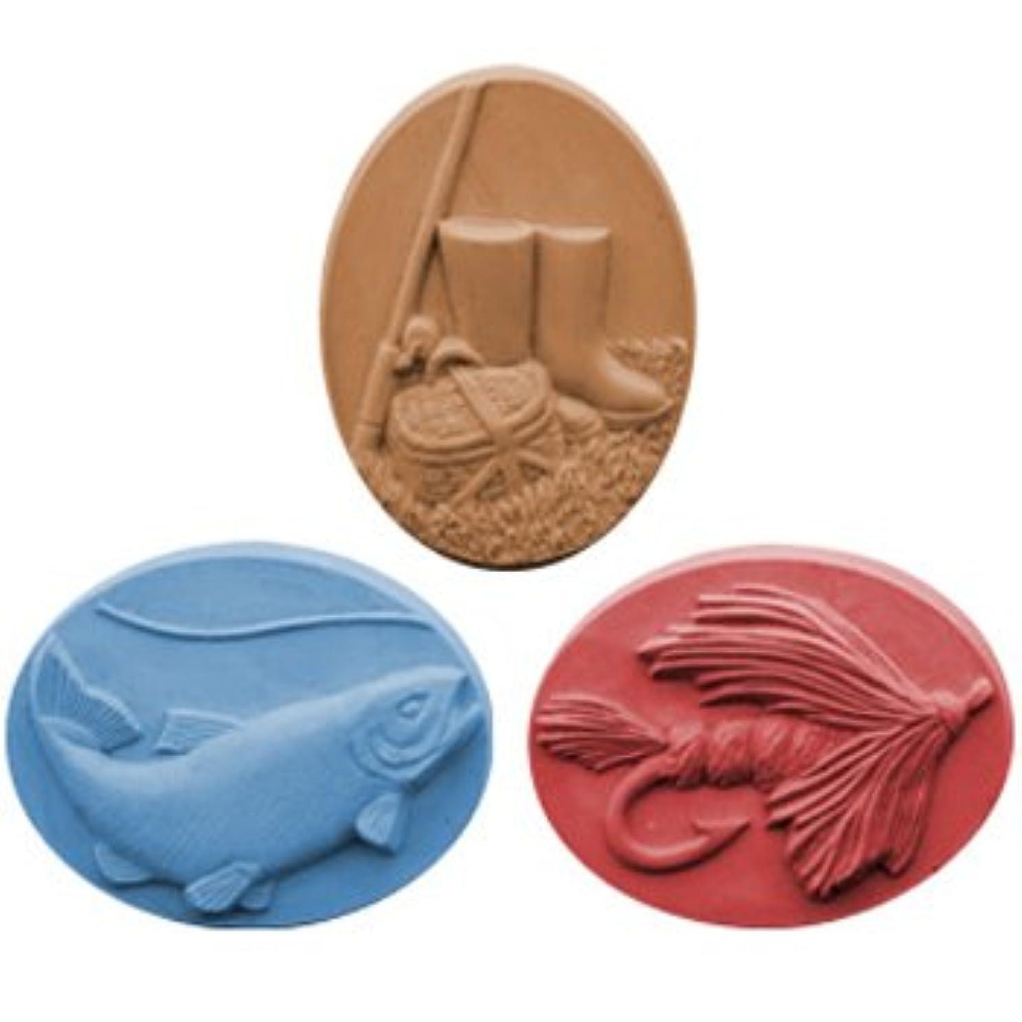 無駄な入場料床を掃除するミルキーウェイ フィッシング【ソープモールド/石鹸型/シートモールド】