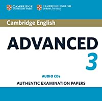 Cambridge English Advanced 3. Auidio CDs (3)