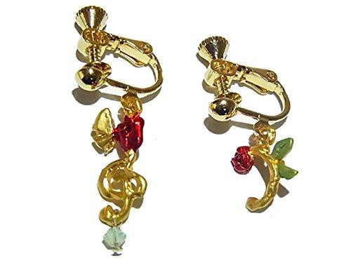 [해외](파르 나트 두창) Palnart Poc 노트 귀걸이 (골드) 음표 꽃 꽃 액세서리 개성 귀여운 (부라후슈 리어) Brough Superior/(Parnat Pock) Palnart Poc Notes Earrings (Gold) Musical Note Flower Flower Accessory Unique Cute (Bluff Shuperya) Broug...