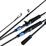 ポータブル超軽量釣り竿高品質スピニング釣り竿 キャスティング釣り竿強力なポール