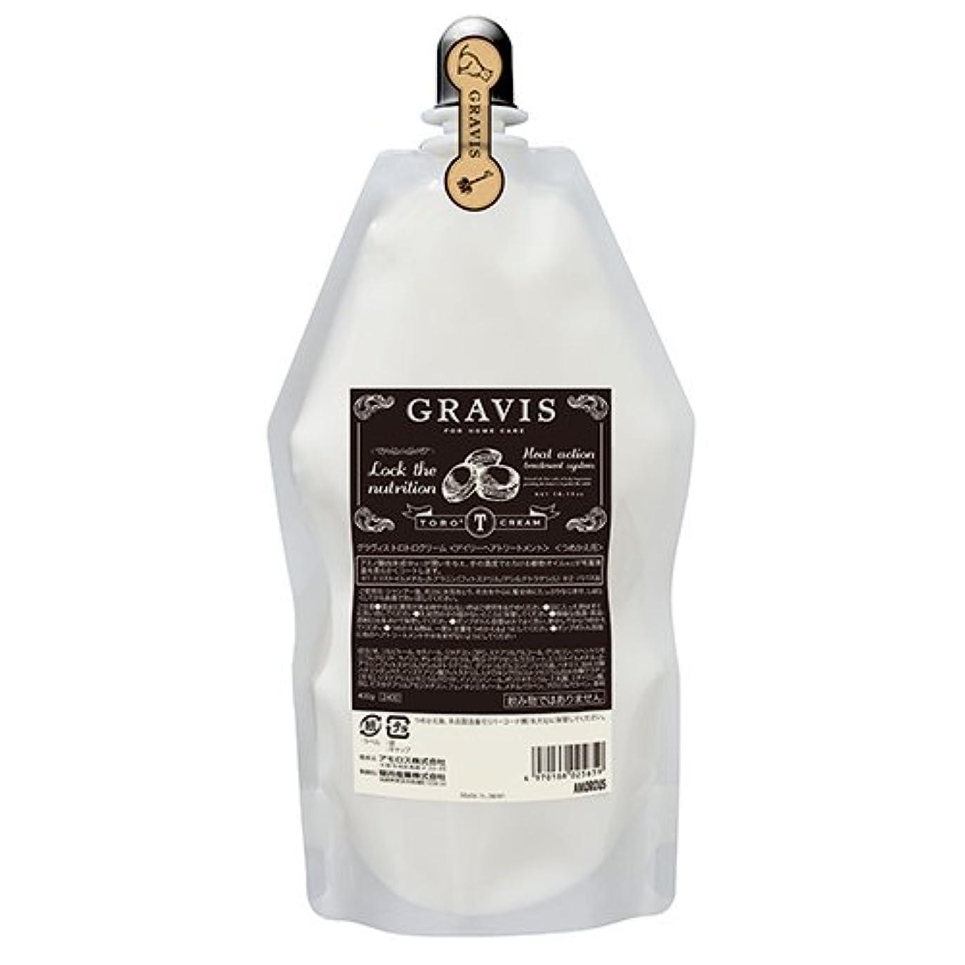 食品シールドジュースアモロス グラヴィス トロトロクリーム 400g レフィル