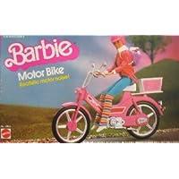 Barbie(バービー) MOTOR BIKE w Realistic MOTOR NOISE Sounds! (1983 Mattel (マテル社) Hawthorne) ドール 人形 フィギュア(並行輸入)