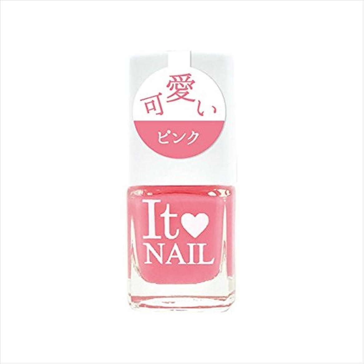 征服者換気する違反するイットネイル ネイルカラー it-p21 可愛いピンク (9.5mL)