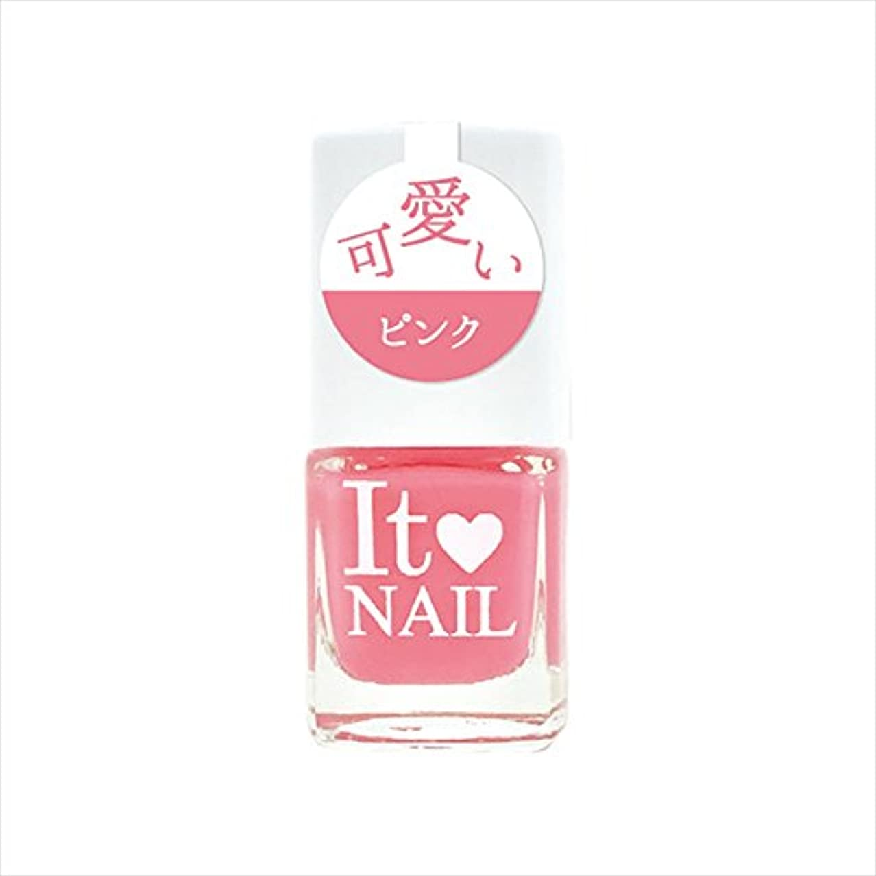真似る行商人サーマルイットネイル ネイルカラー it-p21 可愛いピンク (9.5mL)