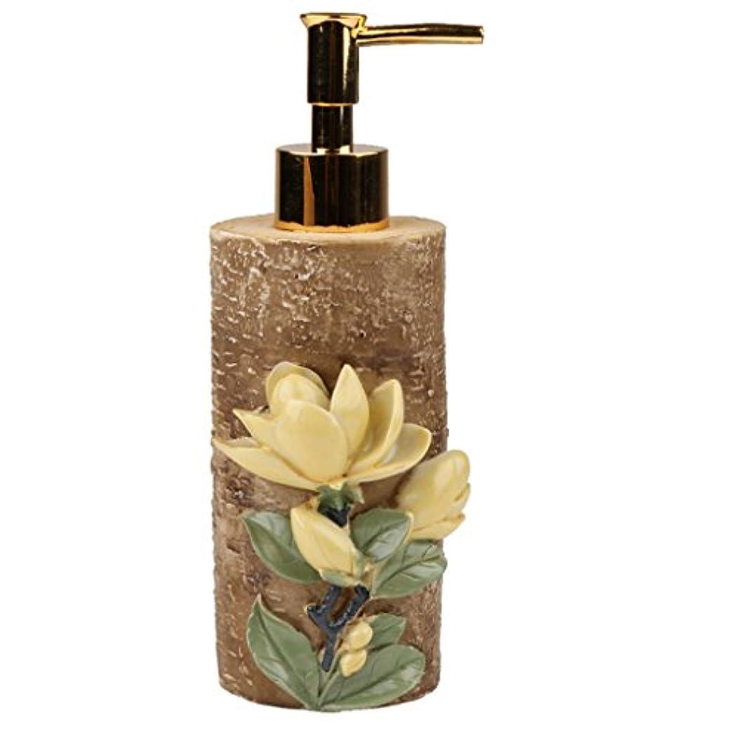 店員提供する光沢空 詰め替え ポンプ 瓶 シャンプー ボディークレンザー 液体石鹸などローション適用 全4種類 - #4