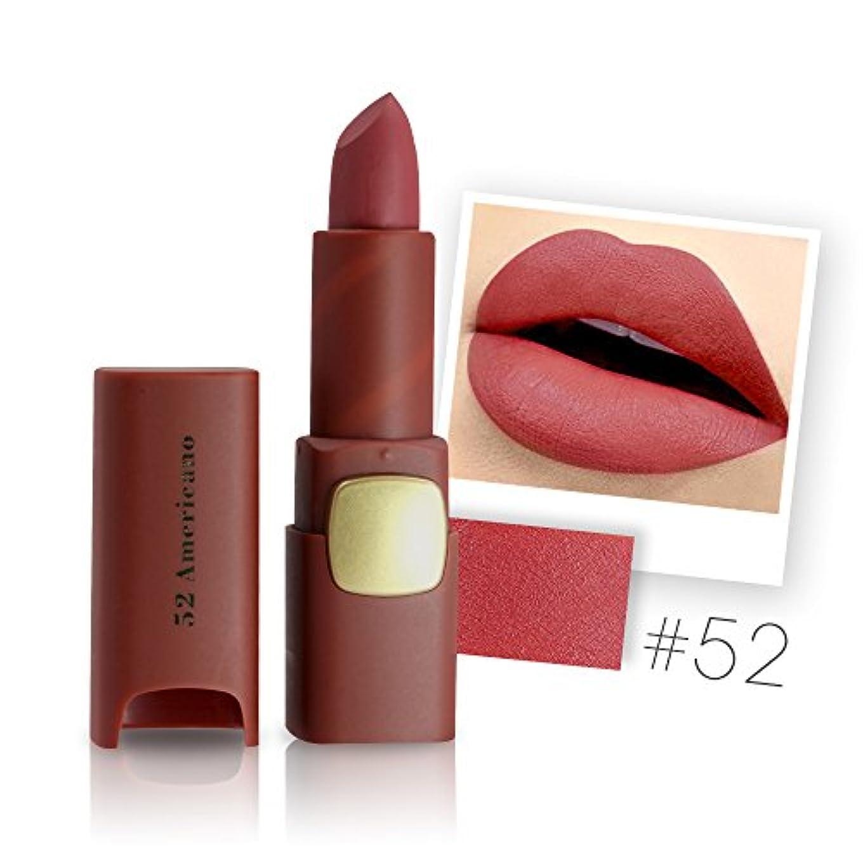 一般ゴージャスチェスをするMiss Rose Brand Matte Lipstick Waterproof Lips Moisturizing Easy To Wear Makeup Lip Sticks Gloss Lipsticks Cosmetic