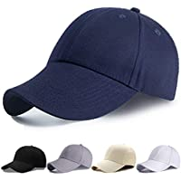 Ohiyoo キャップ 帽子 メンズ レディース 夏 秋 無地 コットン 野球帽