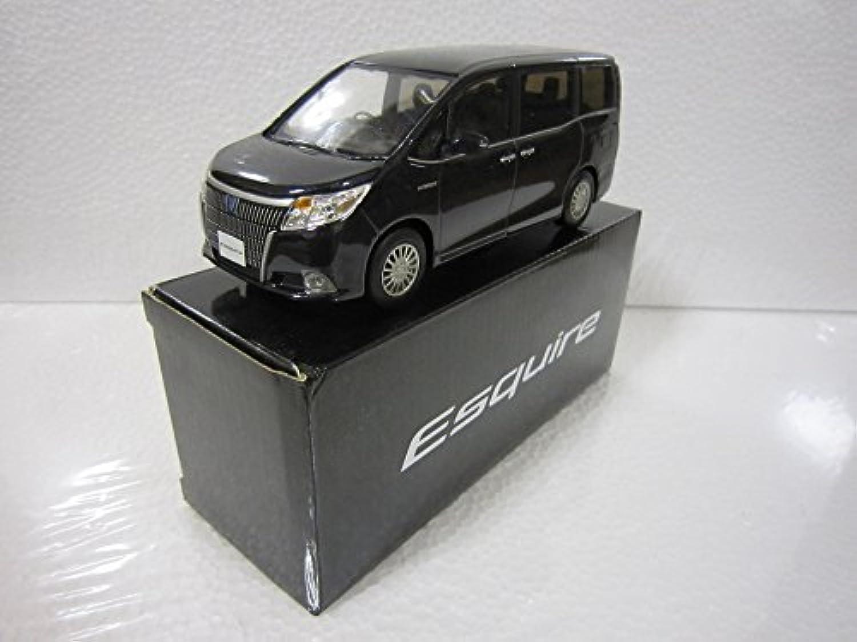 トヨタ 1/30 オフィシャルミニカー エスクァイア Esquire カラーサンプル スパークリングブラックパール 220