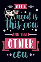 Ask me gleout moo cow: An awesome cow notebook, cow themed gift, Gift For Cow Lovers