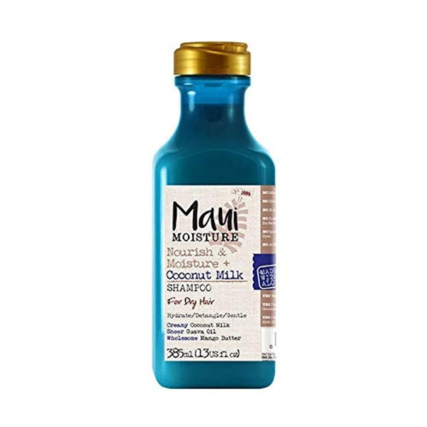 より平らな獲物セットアップ[Maui Moisture ] マウイ水分ナリッシュ&水分+ココナッツミルクシャンプー - Maui Moisture Nourish & Moisture + Coconut Milk Shampoo [並行輸入品]