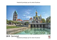 Darmstadt 2019 - Édition blanche - Calendrier mural Timokrates, calendrier photo, calendrier photo - DIN A3 (42 x 30 cm)