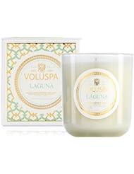Voluspa ボルスパ メゾンブラン ボックス入りグラスキャンドル ラグナ MAISON BLANC Box Glass Candle LAGUNA