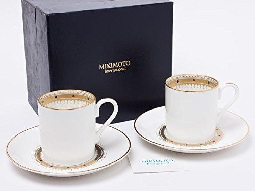 ミキモト インターナショナル ロイヤルクラウン カップ&ソーサー2客 mikimoto-07