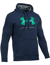 UA Rival Graphic Hoodie 1302294-001 メンズスウェットシャツ