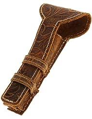 Baosity カミソリケース 剃刀ケース 高品質 レザー製 両刃カミソリ対応 カミソリ収納ケース