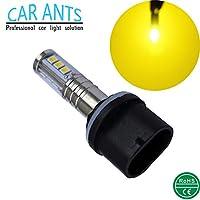 CAR ANTS 自動照明非常に明るいチップ、H1、H3、H4、H7、H8/H9/H11.H10 9005,9006(HB4)、30W 1400LM LEDフォグ電球、プラグアンドプレイ黄金色(880)(2パック)
