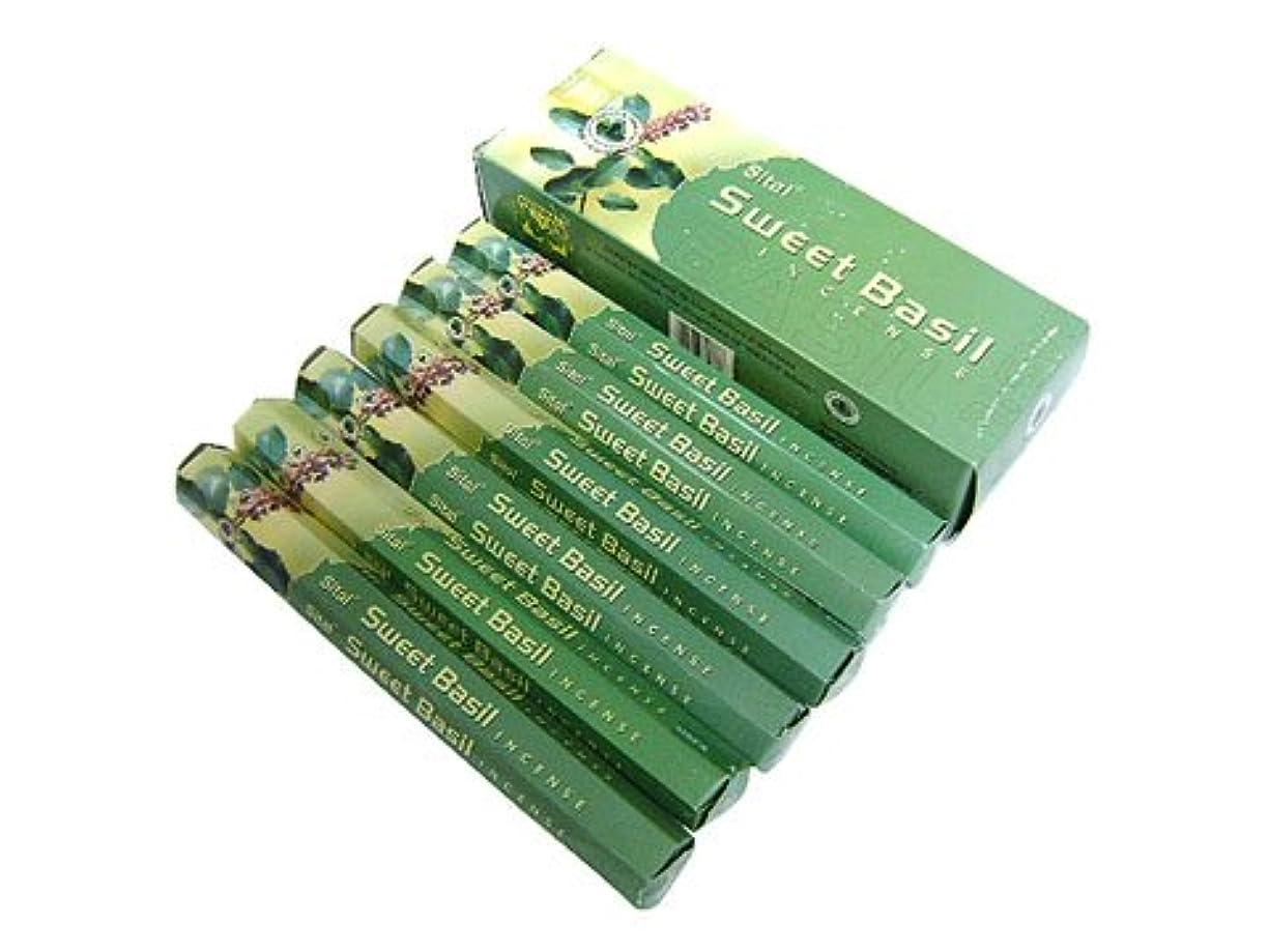 暗くする貢献保存SITAL(シタル) シタル スイートバジル香 スティック SWEET BASIL 6箱セット