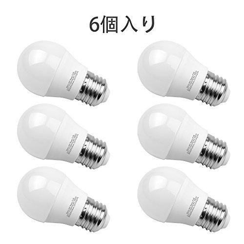 LED電球E26口金 Aooshine G45 LED 広配...