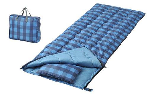 キャンパーズコレクション 寝袋 バッグインバッグ ブルー [最低使用温度15度] シュラフ