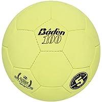 Baden Official Size 5 Suede Indoor Ball Optic Yellow [並行輸入品]