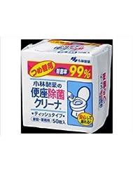 (まとめ)小林製薬 便座除菌クリーナ 家庭業務用 つめ替用 【×5点セット】