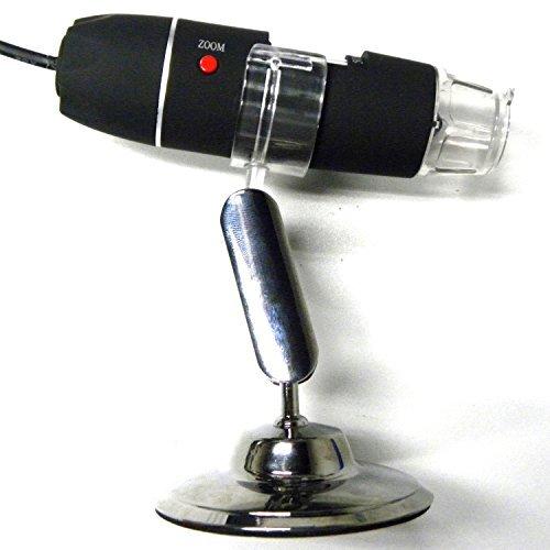 500倍ズーム デジタルマイクロスコープ 顕微鏡 これがあればいろいろ拡大して見ることができます【皮膚 頭皮診断 生物観察 宝石鑑定 繊維検査 偽造判断 実験】[AF-0507]