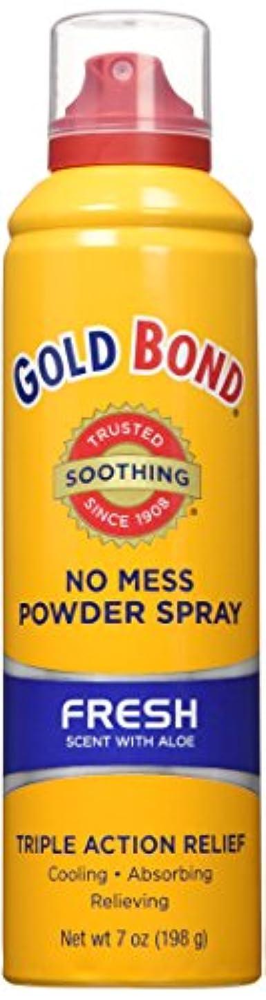 メダル圧倒する処方海外直送品Gold Bond Gold Bond No Mess Powder Spray, Fresh Scent With Aloe 7 oz (Pack of 4)