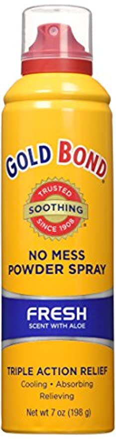 累積代名詞製造業海外直送品Gold Bond Gold Bond No Mess Powder Spray, Fresh Scent With Aloe 7 oz (Pack of 4)