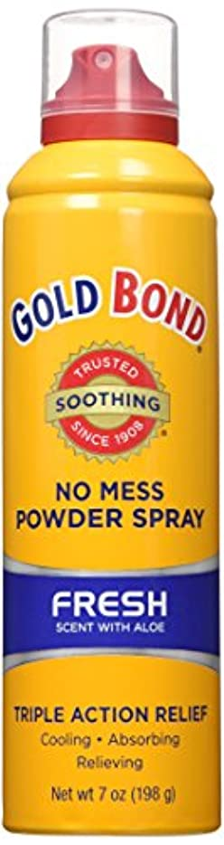 ポークフリッパー請求可能海外直送品Gold Bond Gold Bond No Mess Powder Spray, Fresh Scent With Aloe 7 oz (Pack of 4)