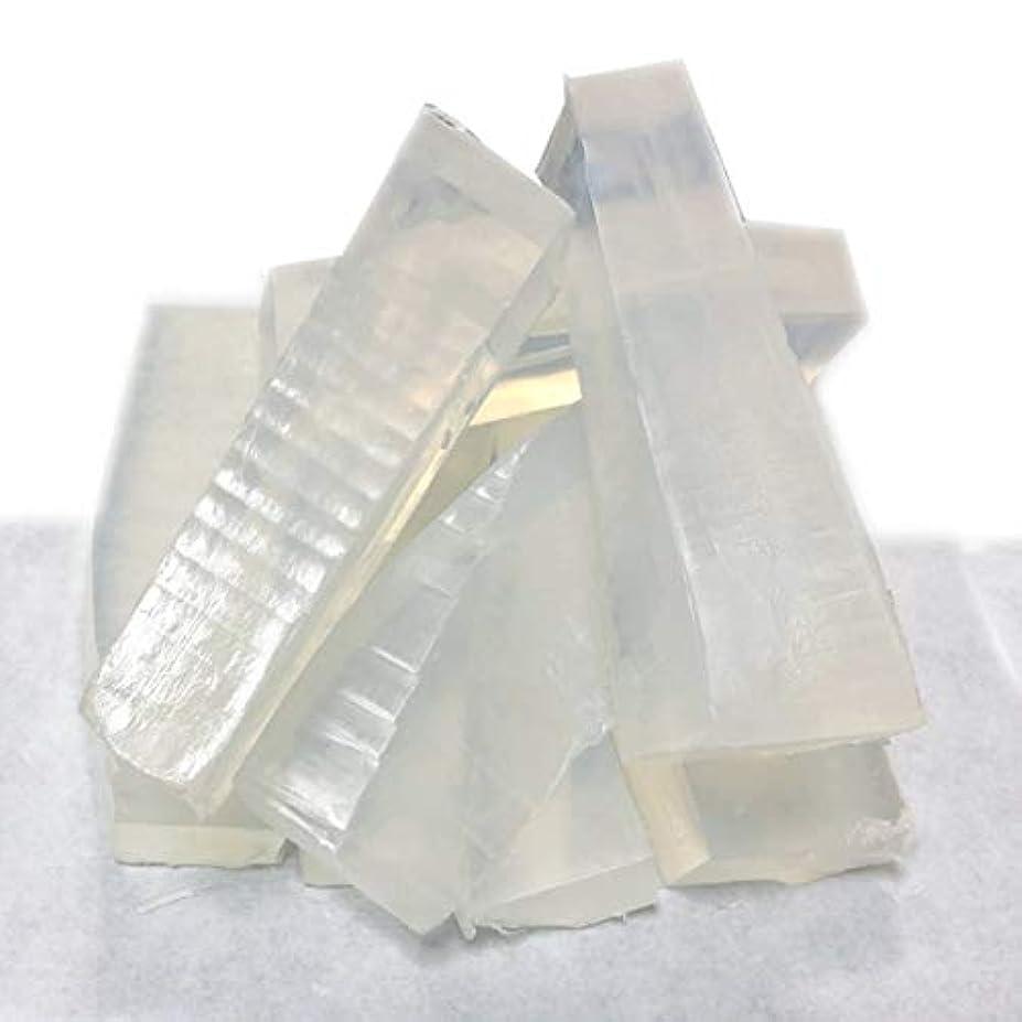 放棄不正直ピラミッドグリセリンソープ(MPソープ)1kg(1,000g)クリア