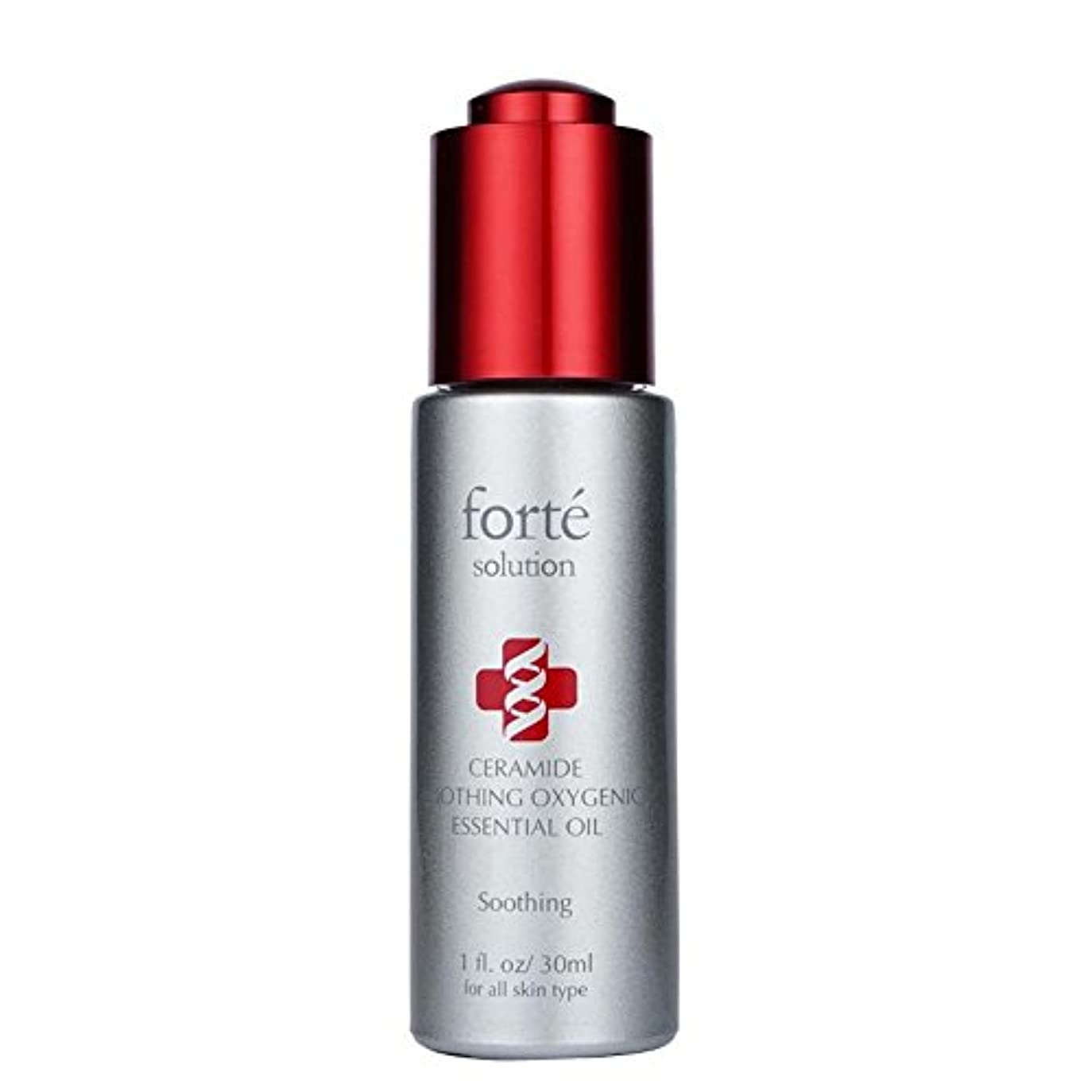 スリンク反対対FORTE Ceramide Soothing Oxygenic Essential Oil 30ml/1oz並行輸入品