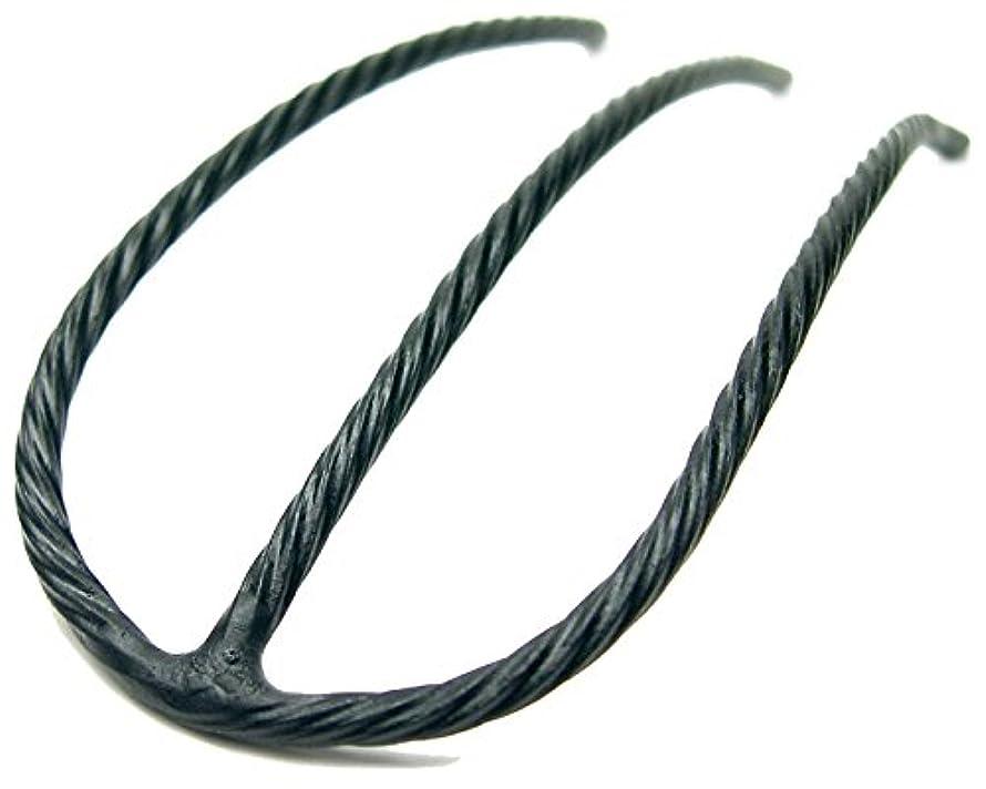 ステップ除外するヘルシーリトルムーン インナーヘアアクセ Eスティック(スーパーマット) ブラック