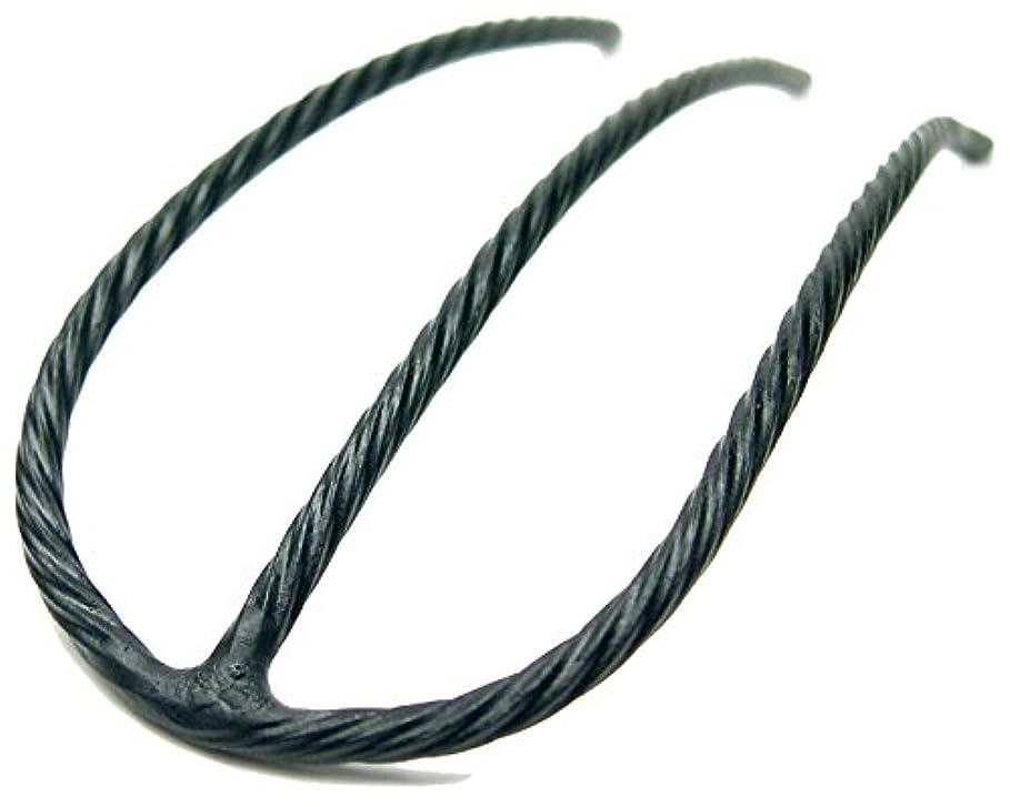 充電締め切り食料品店リトルムーン インナーヘアアクセ Eスティック(スーパーマット) ブラック