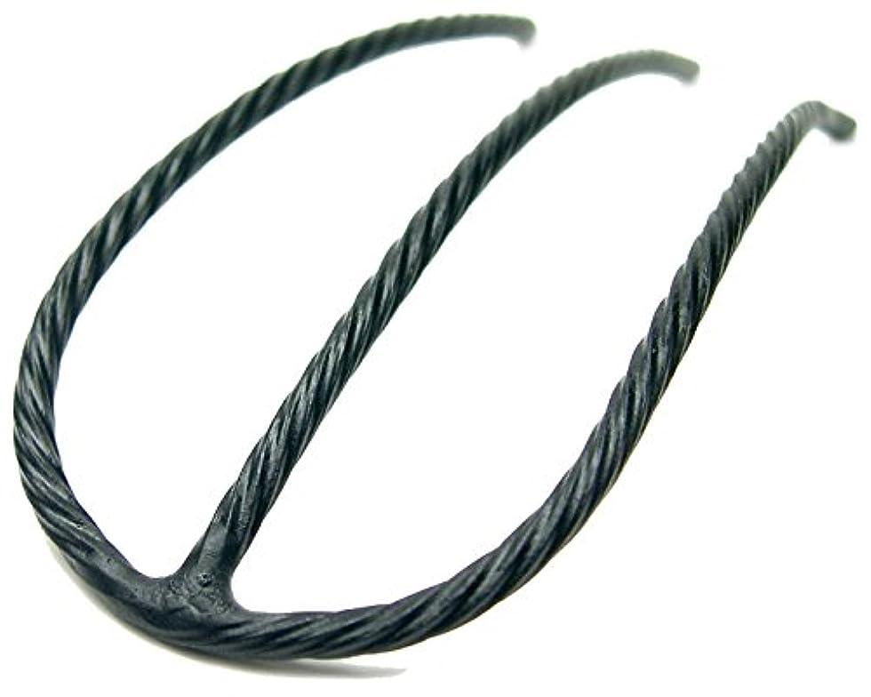 クスコ終わった細心のリトルムーン インナーヘアアクセ Eスティック(スーパーマット) ブラック