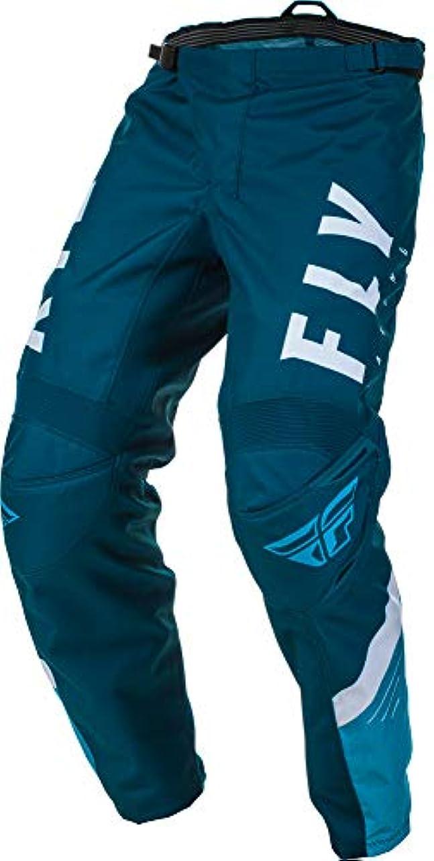 代表する組み込むビームFly Racing 2020 ユース F-16 パンツ (18) (ネイビー/ブルー/ホワイト)