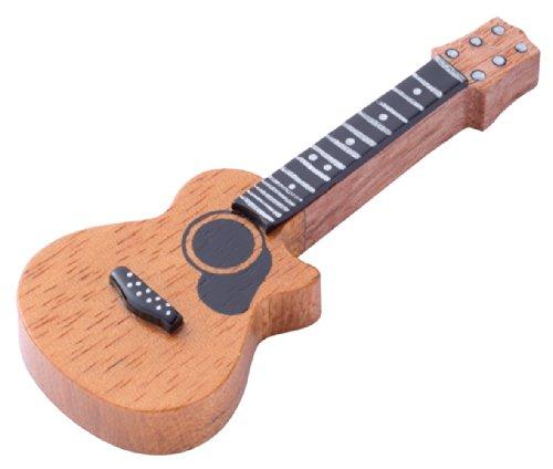 木製箸置き アコースティックギター 250297...