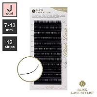 まつげエクステ《世界初!レーザー加工》BLINK ミンクラッシュ (Jカール) (12列) (0.15 / 13mm)